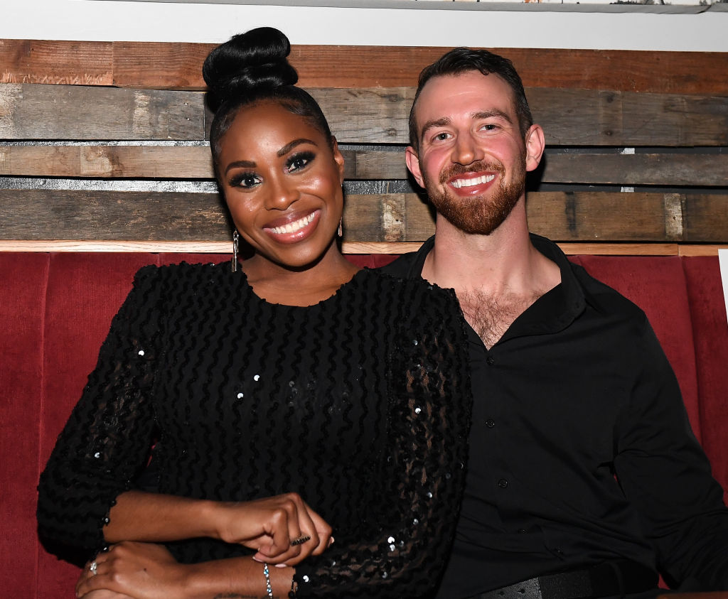 "Lauren Speed and Cameron Hamilton attend ""Love Is Blind"" Atlanta screening"