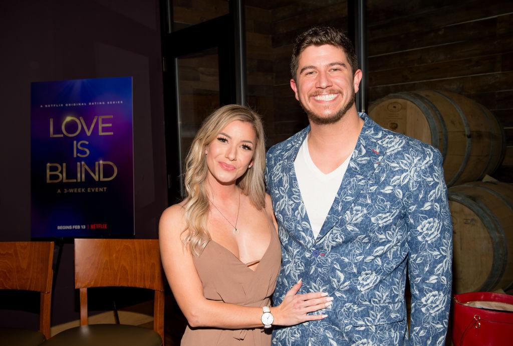 Amber Pike and Matt Barnett smiling at the camera
