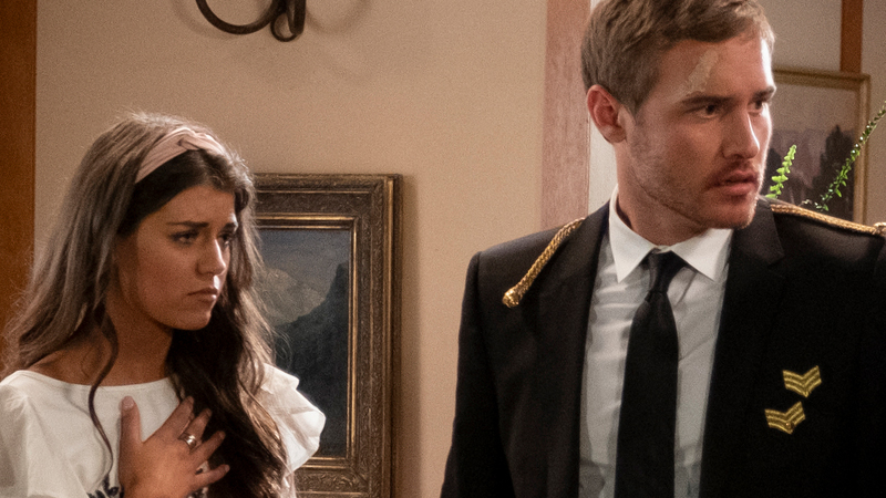 Madison Prewett and Peter Weber on The Bachelor Season 24