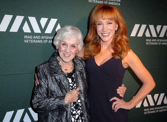 Kathy Griffin and her mom Maggie Griffin