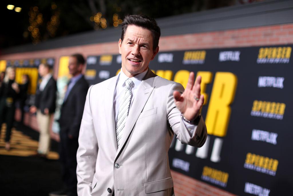 Mark Wahlberg attends the Netflix Premiere Spenser Confidential
