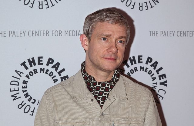Martin Freeman attends a presentation of 'Fargo' on April 11, 2014