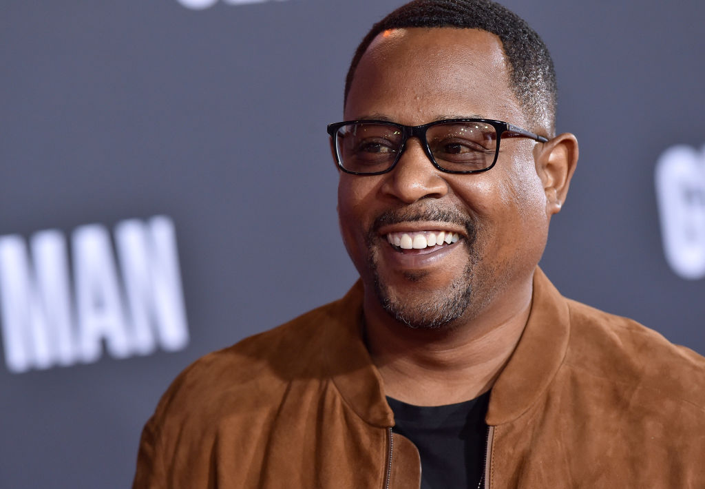 Martin Lawrence on the red carpet at a movie premiere in October 2019