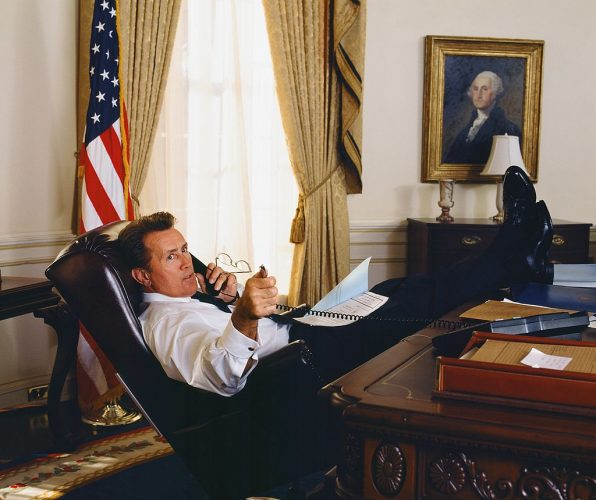 "Martin Sheen as President Josiah ""Jed"" Bartlet in Season 1 of 'The West Wing'"