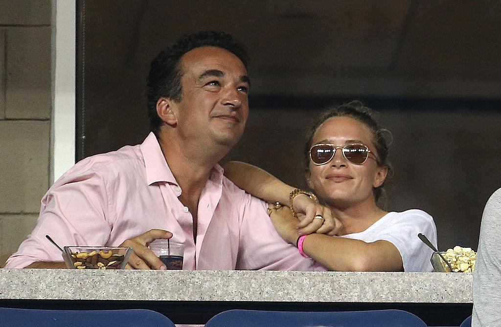 Mary-Kate Olsen with husband Olivier Sarkozy