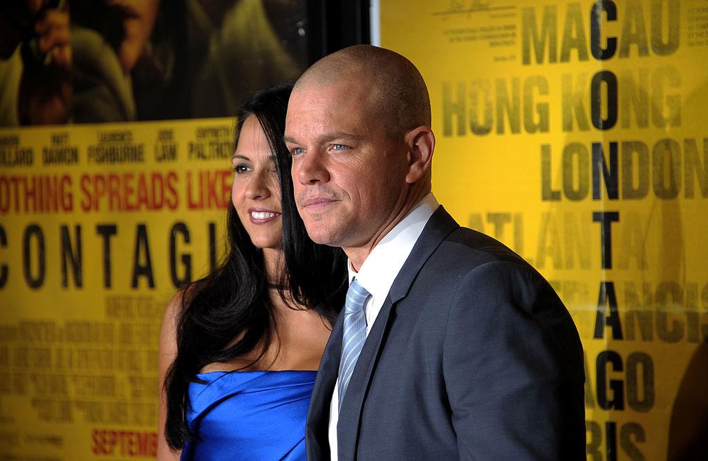 Matt Damon Contagion premiere