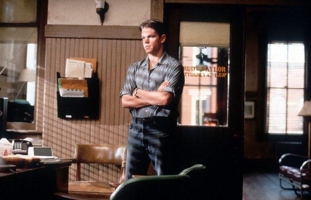 Matt Damon in 'The Rainmaker'