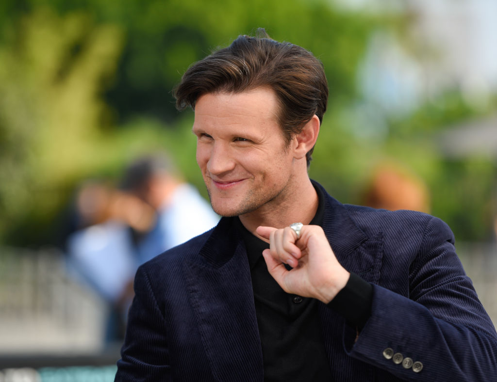 Matt Smith of Doctor Who: rewatch is happening