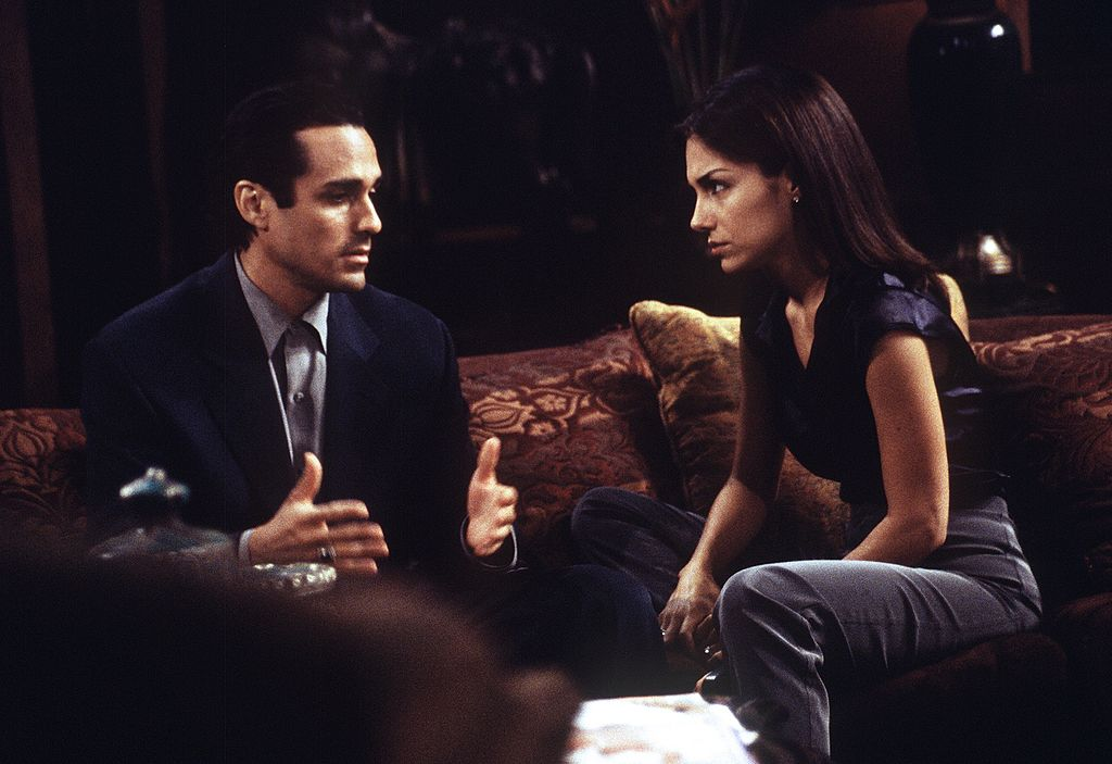 Maurice Benard and Vanessa Marcil on 'General Hospital' in 1997 |