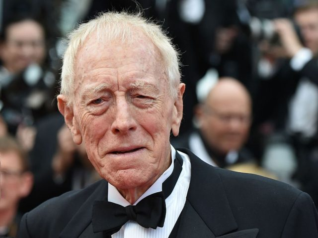 Max von Sydow at a screening of 'The BFG'