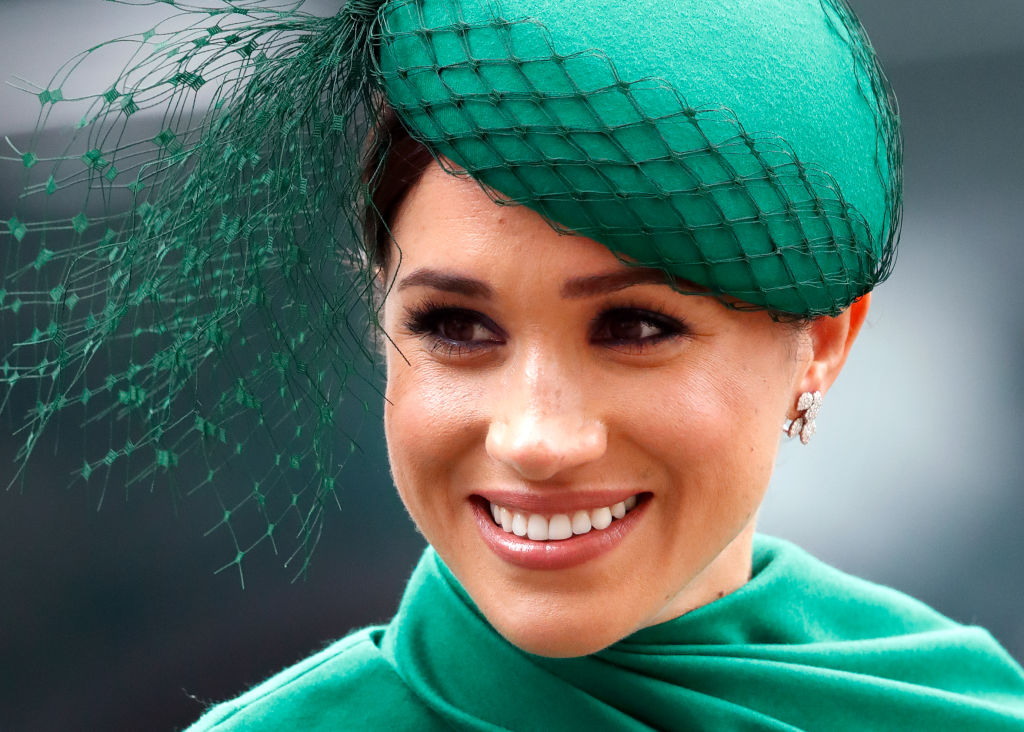 Meghan Markle attends the Commonwealth Day Service 2020 at Westminster Abbey