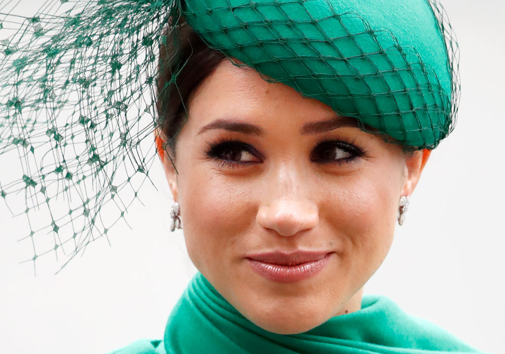Meghan Markle attends the Commonwealth Day Service 2020