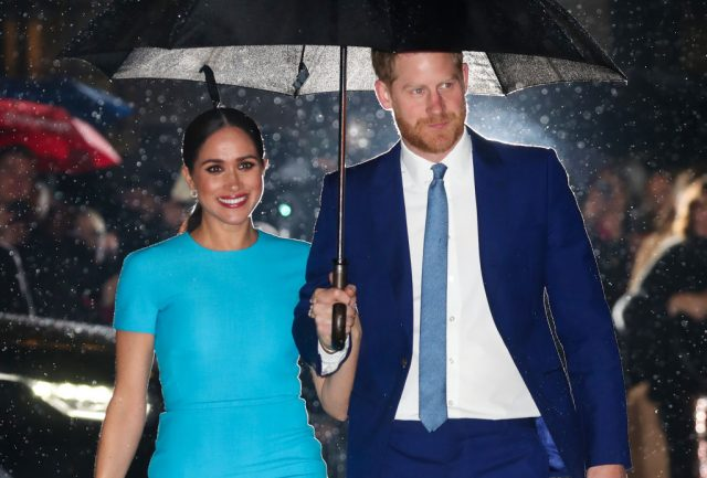 Meghan Markle and  Prince Harry attend The Endeavour Fund Awards on March 05, 2020, in London, England