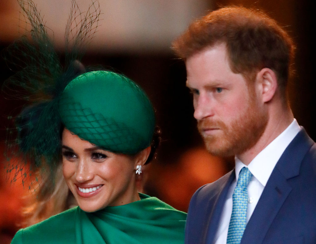 Meghan Markle and Prince Harry attend the Commonwealth Day Service 2020