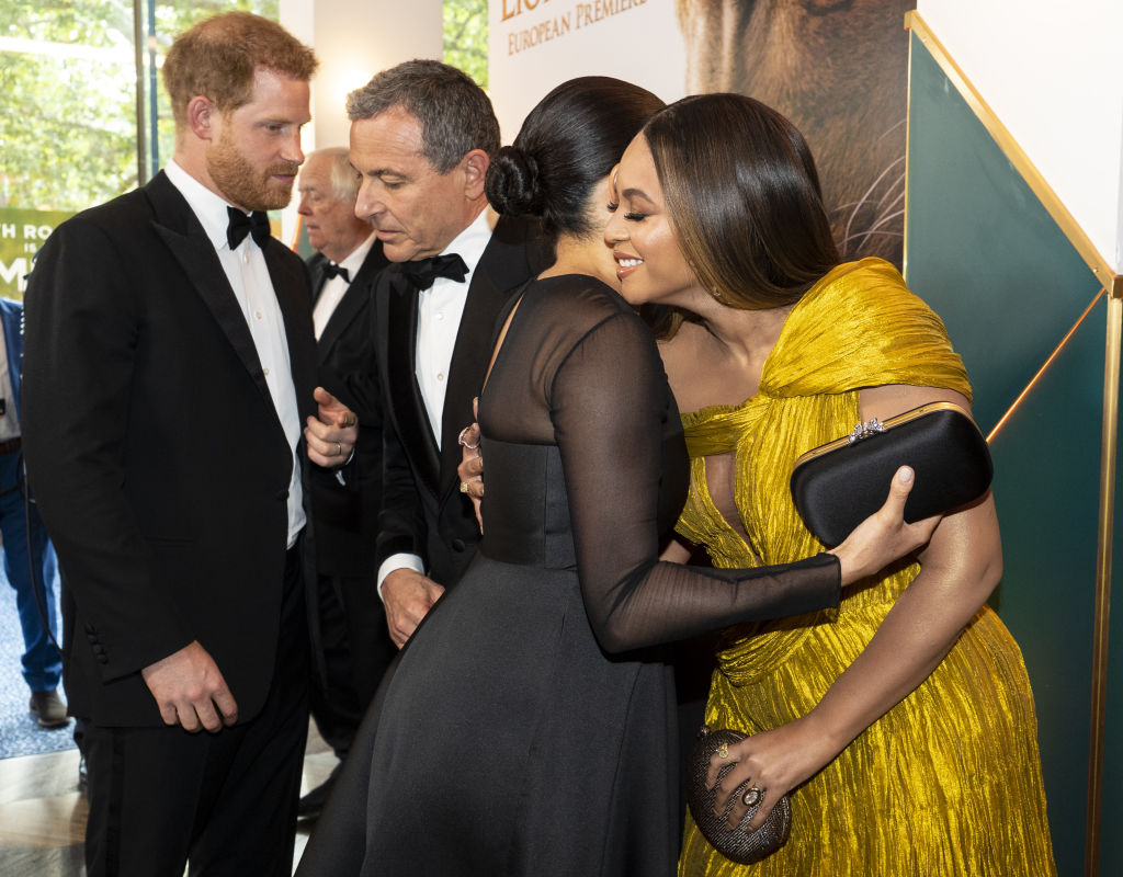 Harry and Meghan with Bob Iger