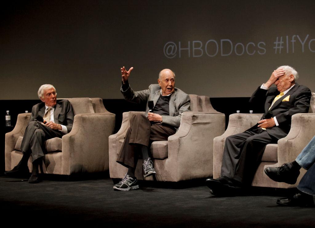Mel Brooks, Carl Reiner and Dick Van Dyke