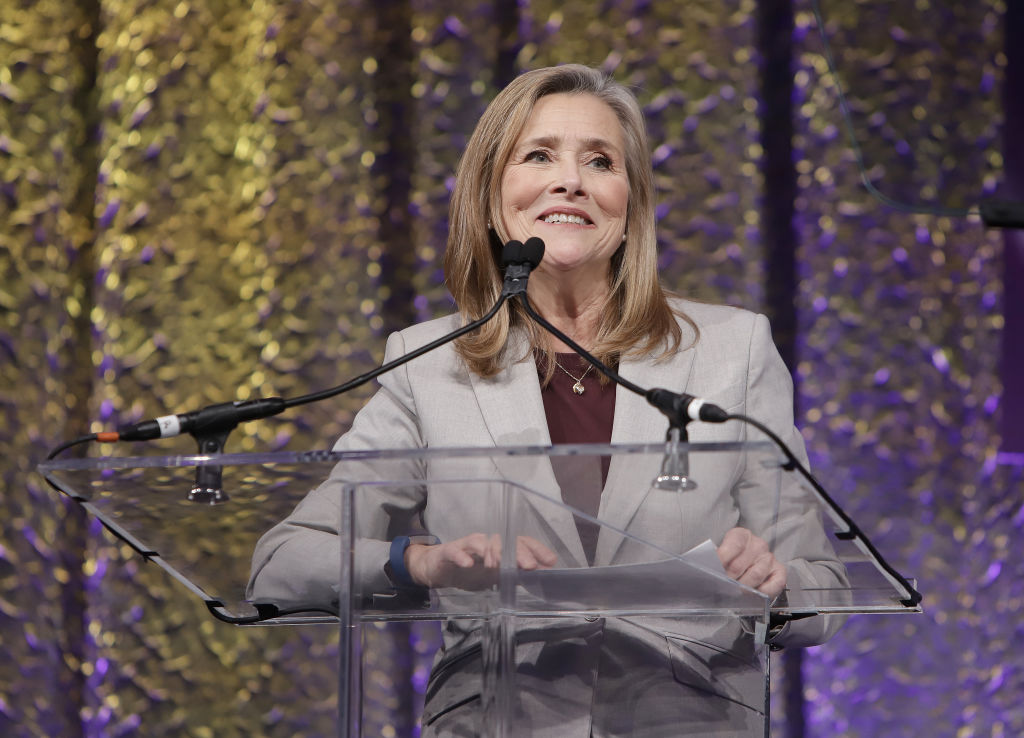 Meredith Vieira on stage at  the 2nd Annual Global TV Demand Awards