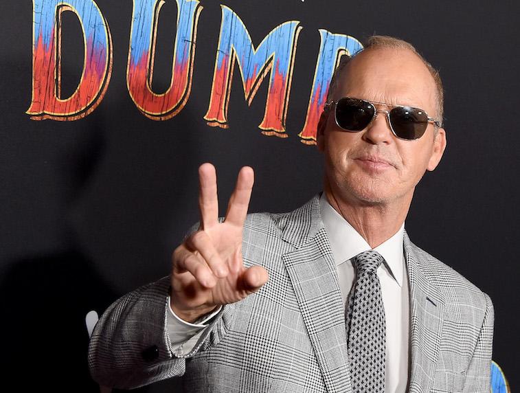Michael Keaton on the red carpet