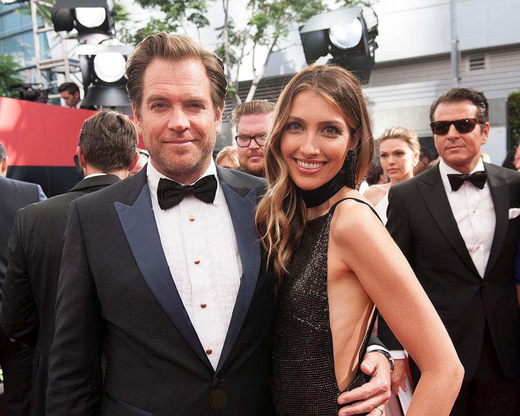 Former NCIS star Michael Weatherly and Bojana Jankovic