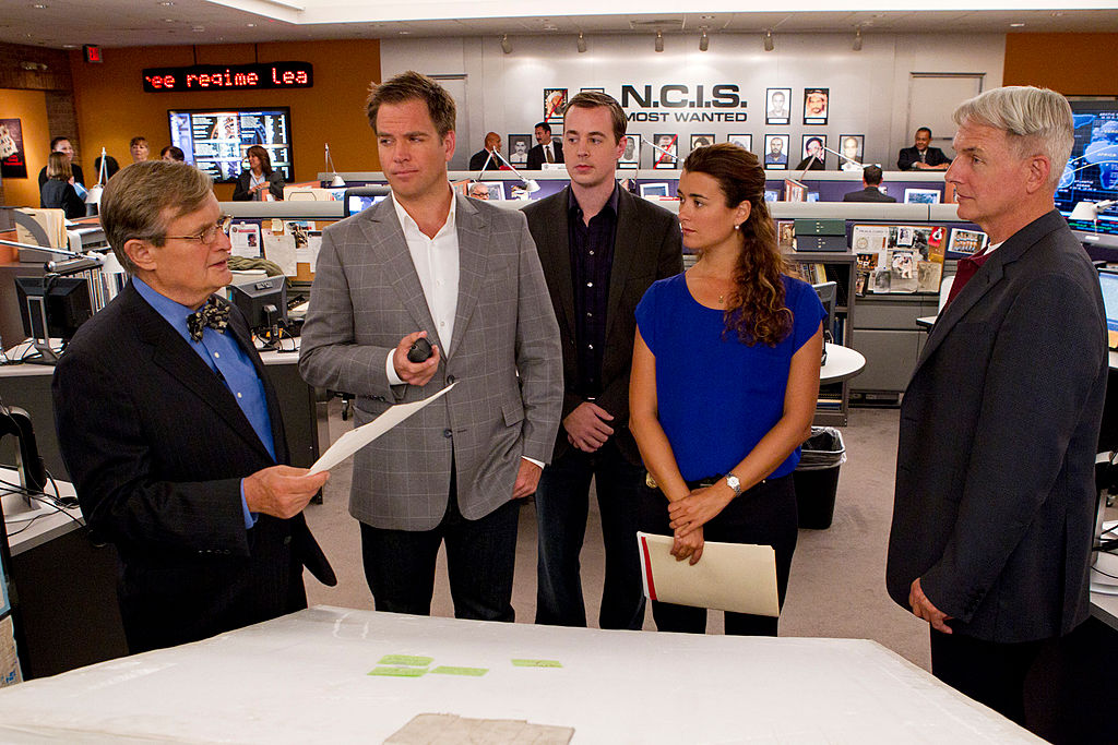 NCIS cast |  Robert Voets/CBS via Getty Images