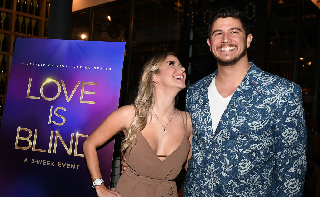 "Amber Pike and Matt Barnett attend ""Love Is Blind"" Atlanta screening"