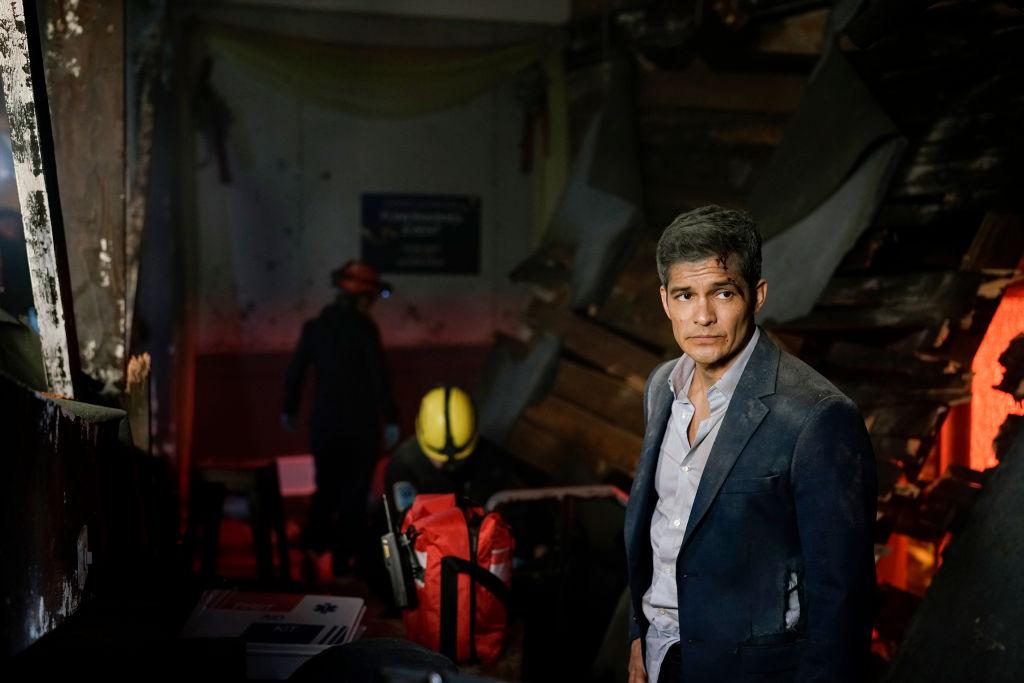 Nicholas Gonzalez on the set of The Good Doctor   Darko Sikman/ABC via Getty Images