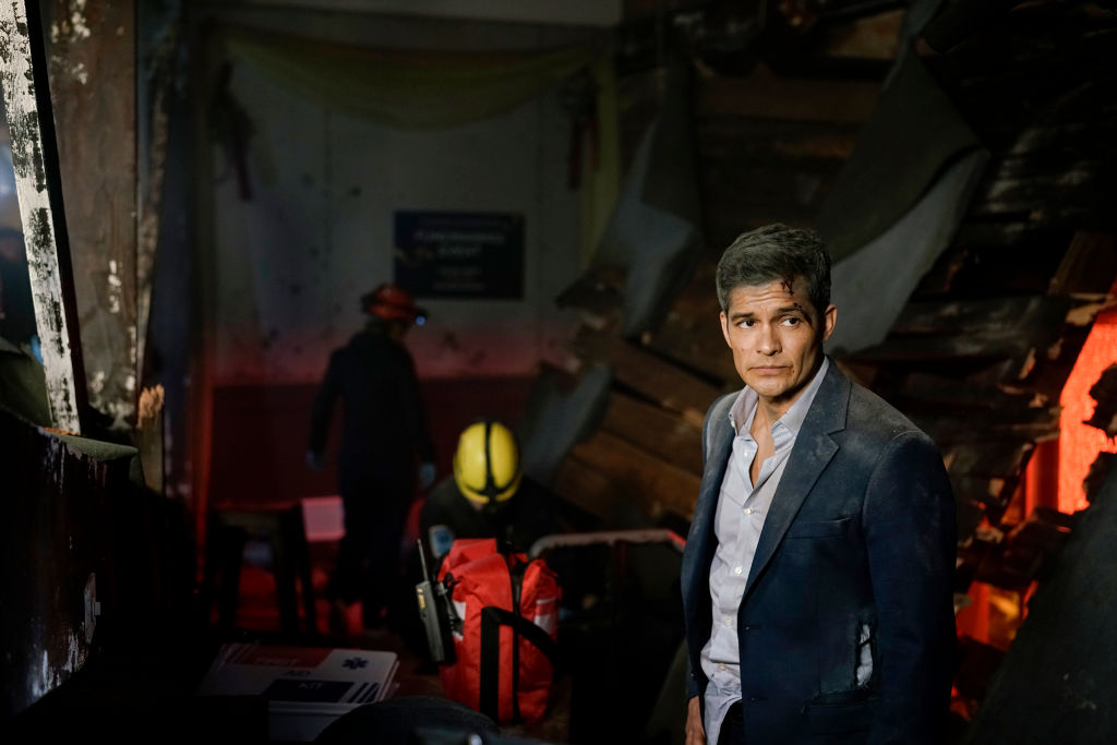 Nicholas Gonzalez on the set of The Good Doctor | Darko Sikman/ABC via Getty Images