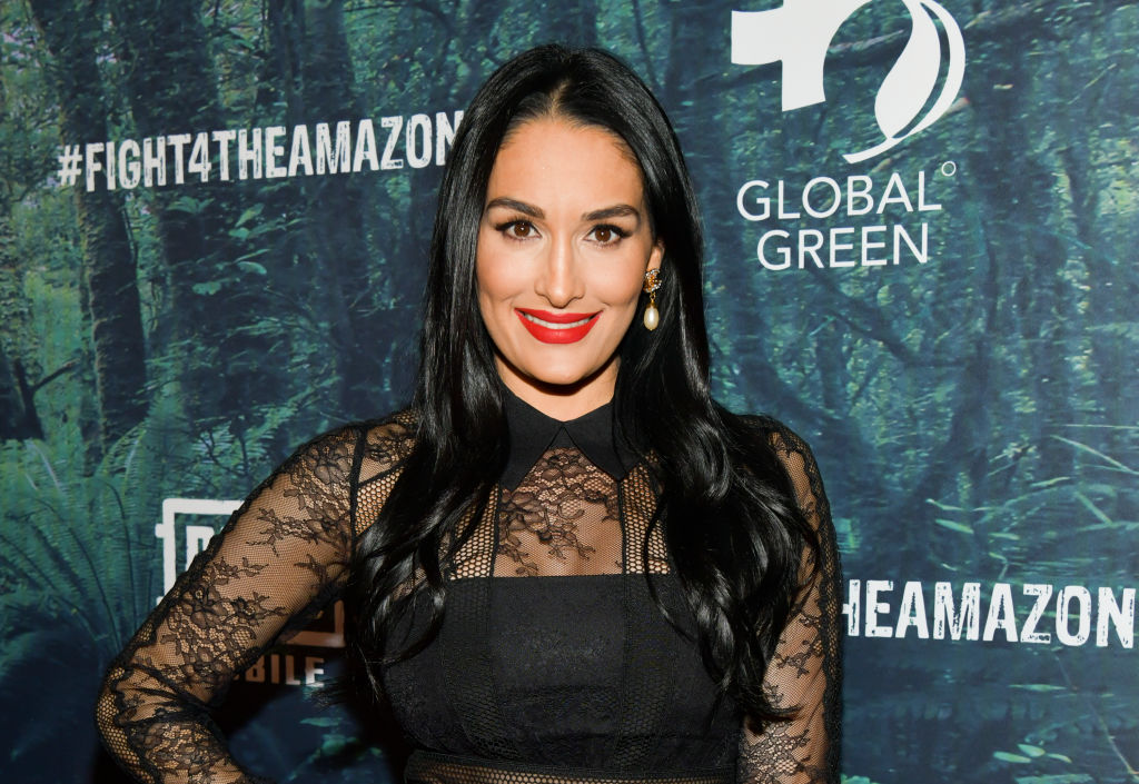 Nikki Bella attends event at Avalon Hollywood