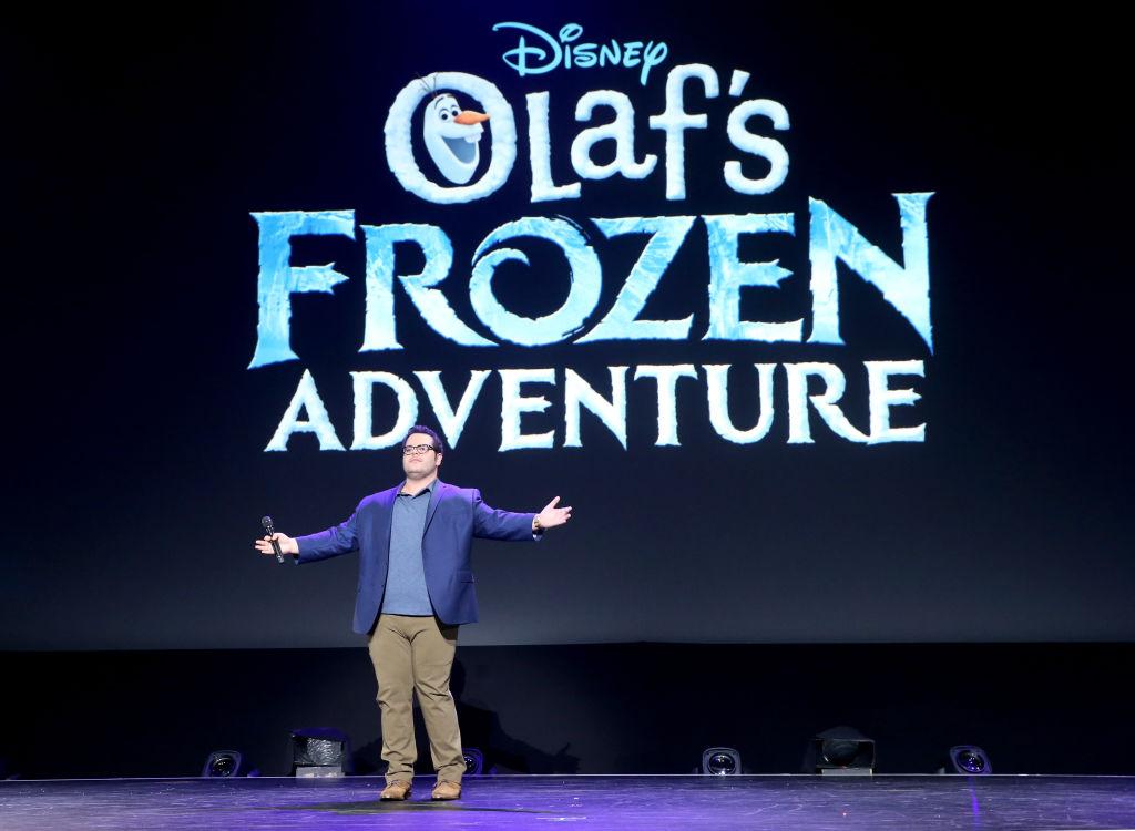 Josh Gad of 'OLAF'S FROZEN ADVENTURE'