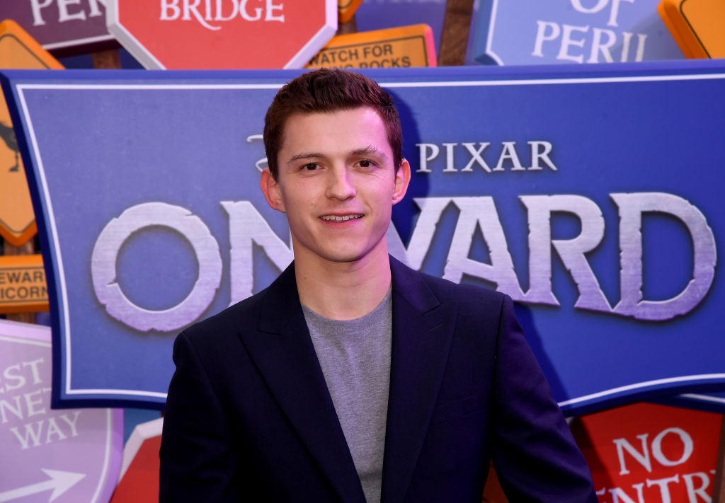 Tom Holland at the Onward U.K. premiere