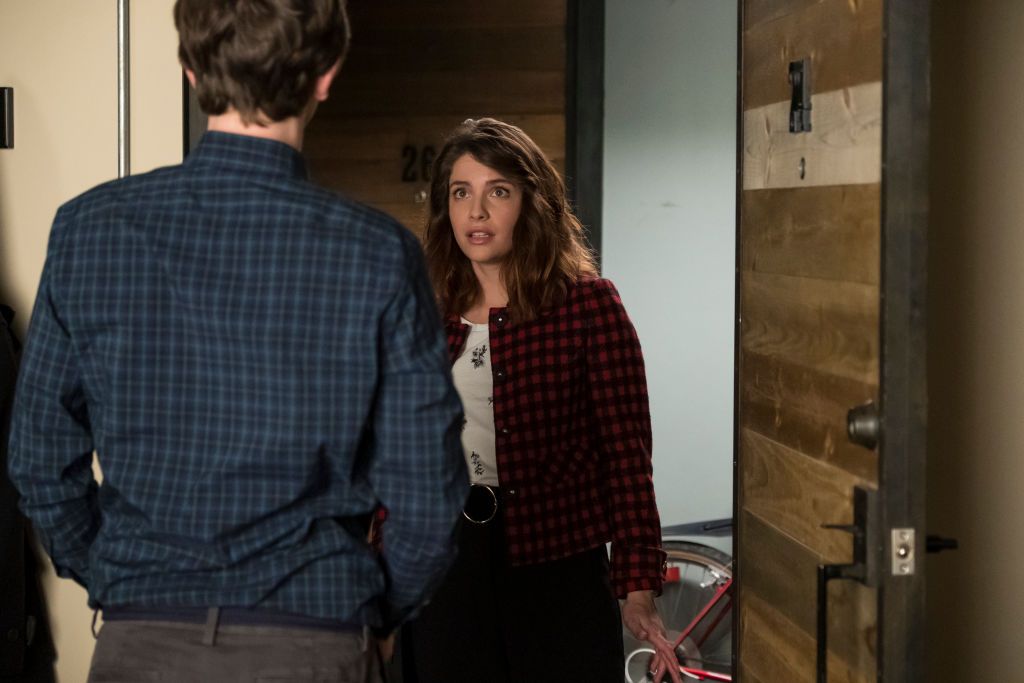 Paige Spara and Freddie Highmore on The Good Doctor | Kailey Schwerman via Getty Images