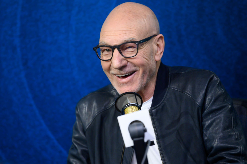 Patrick Stewart visits the SiriusXM Hollywood Studio