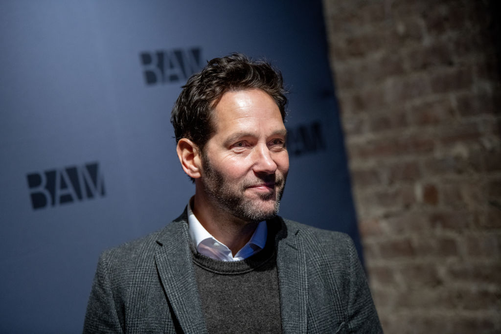 Paul Rudd smiling