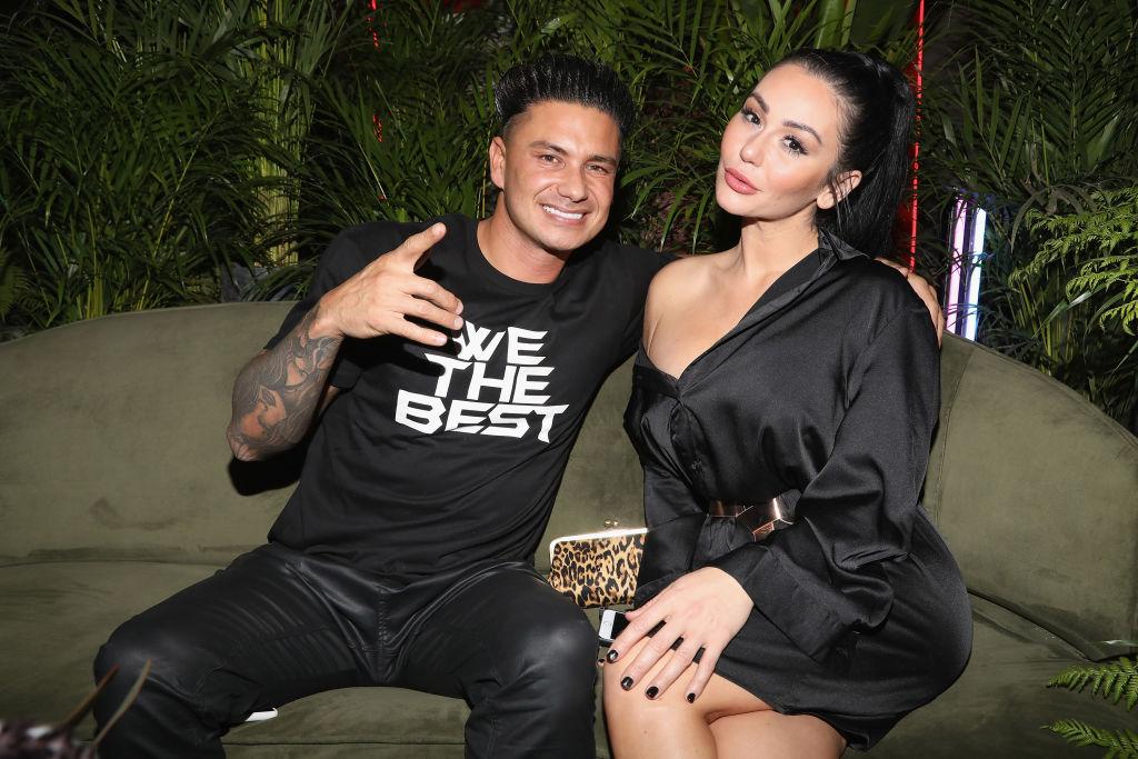 Paul DJ 'Pauly D' DelVecchio and Jenni 'JWoww' Farley