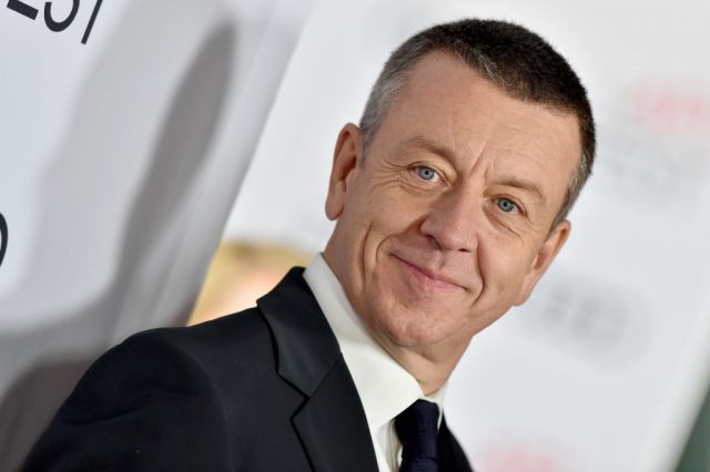Peter Morgan attends the premiere of 'The Crown' Season 3 on Nov. 16, 2019