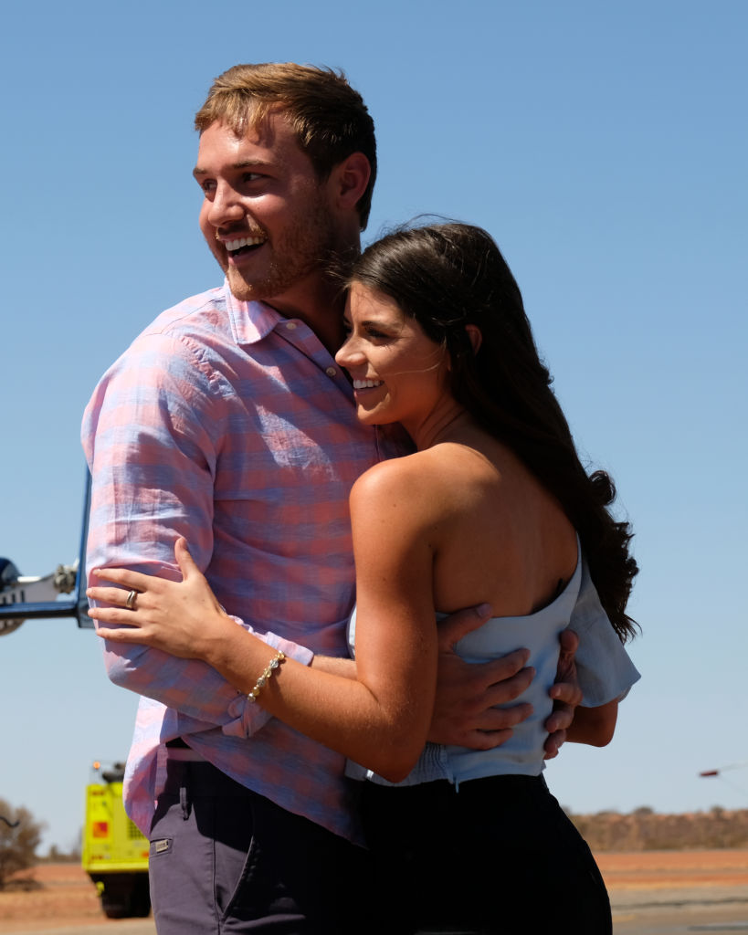 Madison Prewett and Peter Weber on The Bachelor