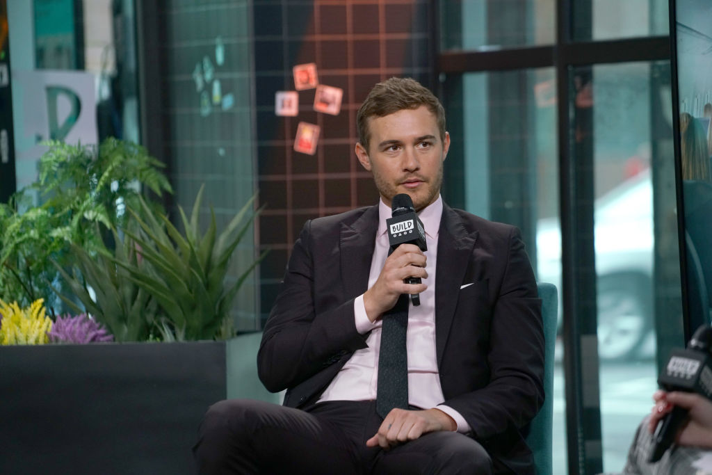 """Peter Weber attends Build Series to discuss """"The Bachelor"""" at Build Studio on February 04, 2020 in New York City."""