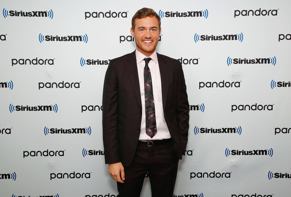 "Peter Weber of ABC's ""The Bachelor"" visits the SiriusXM Studios on February 04, 2020 in New York City."