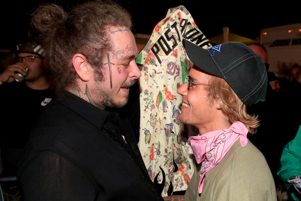 Post Malone and Justin Bieber