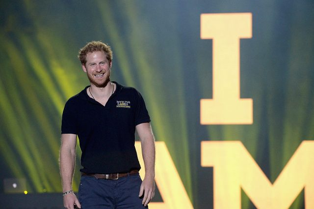 Prince Harry, Duke of Sussex at the 2016 Invictus Games closing ceremony on May 12, 2016