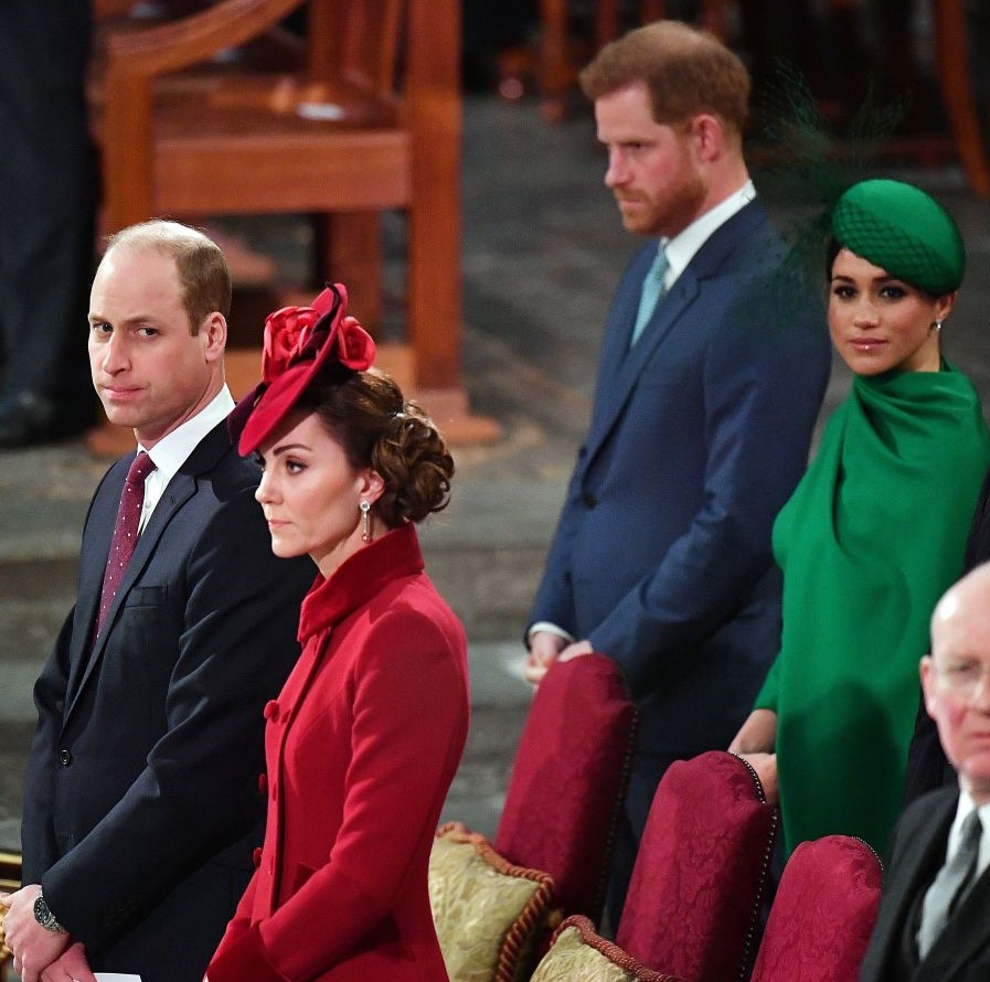 Prince Harry, Meghan Markle, Prince William, Kate Middleton