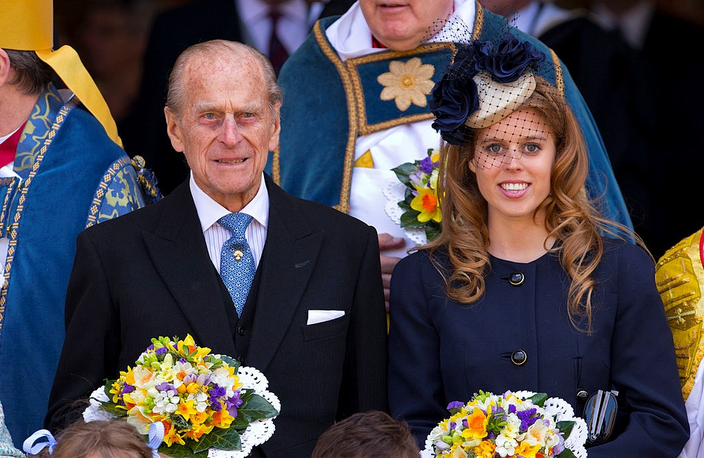 Prince Philip and Princess Beatrice