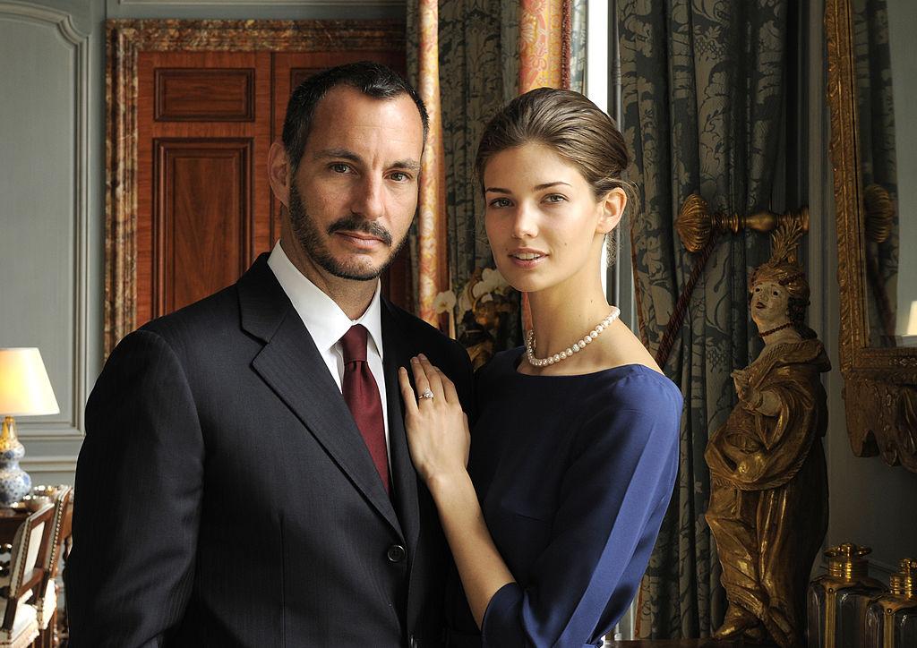 Prince Rahim and Princess Salwa Aga Khan