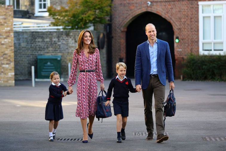 Prince William and Kate Middleton enrolled Prince George and Princess Charlotte in Thomas' Battersea school