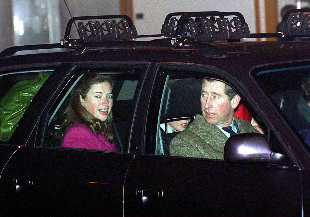Prince William and Harry's nanny, Tiggy Legge-bourke, and Prince Charles