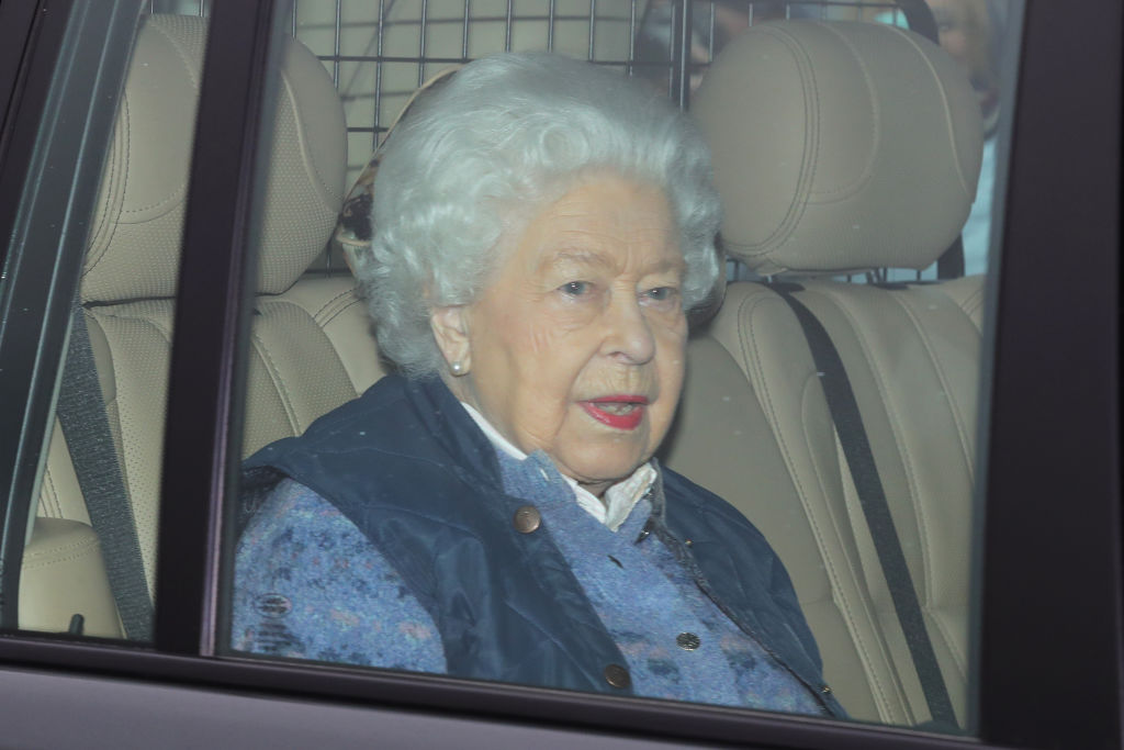 Queen Elizabeth II leaves Buckingham Palace, London, for Windsor Castle