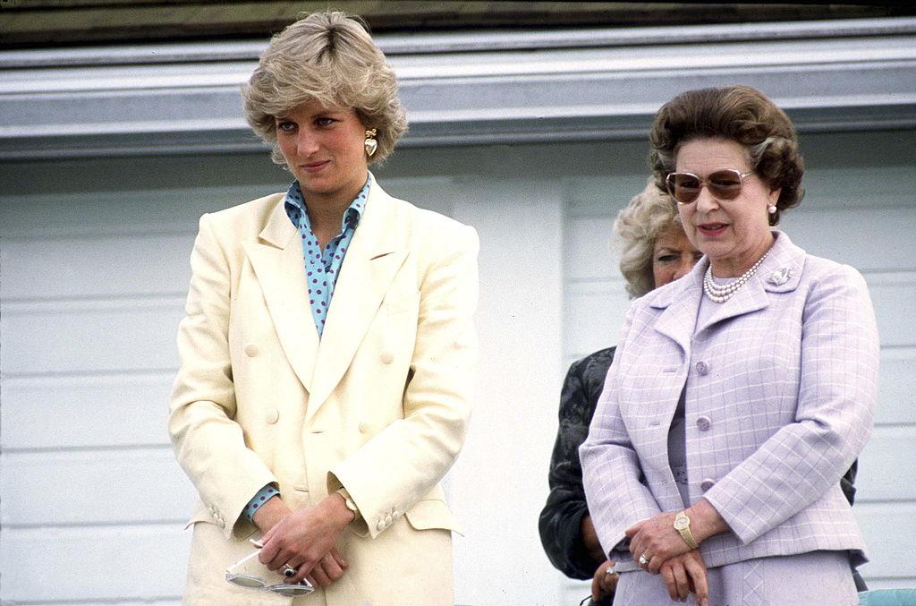 Princess Diana Queen Elizabeth