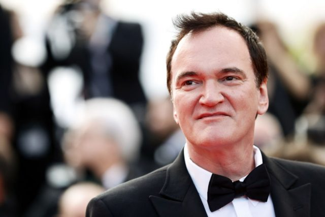 Quentin Tarantino at the 72nd Annual Cannes Film Festival on May 25, 2019
