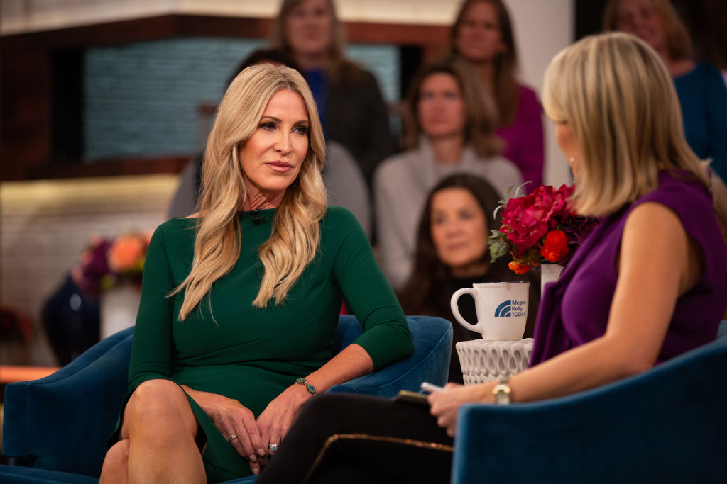 Lauri Peterson and Megyn Kelly