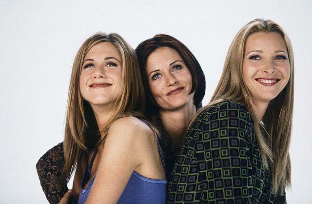 Jennifer Aniston, Courtney Cox, Lisa Kudrow